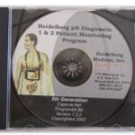 Heidelberg pH Diagnostic Program restore CDs